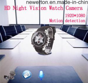 IR Night Vison PC Webcam Mini DVR HD1080p Digital Watch Video Camera pictures & photos