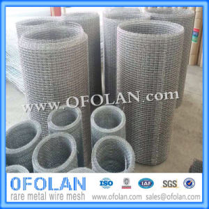 Crimped Rectangle Nickel 200 Wire Mesh pictures & photos
