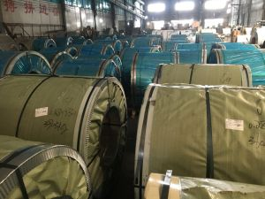 Aod Material Half Copper 201 Stainless Steel Coil pictures & photos