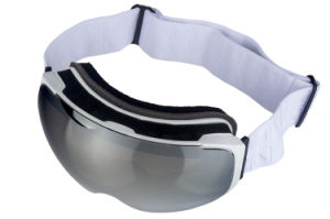 Magnetic Replacement PC Lens Unisex Skiing Sports Racing Goggles pictures & photos