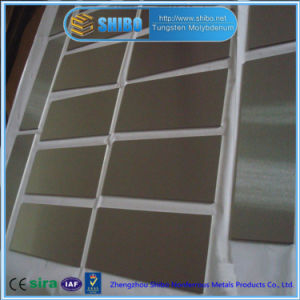 Factory Direct Sale High Purity 99.95% Molybdenum Plate with High Quality pictures & photos