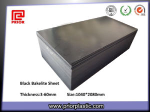 Solid Plastic or Compact Laminate Black Bakelite Sheets pictures & photos