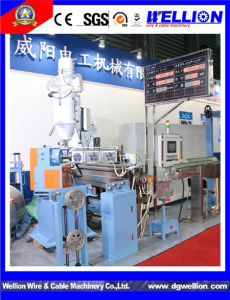 High Quality Wire and Cable Plastic Extruder Machine pictures & photos