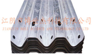 Galvanized Two Waves Highway Guardrail Roll Forming Machine pictures & photos