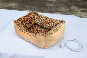 Soft Pet Bed with Heated Pad CE Approved