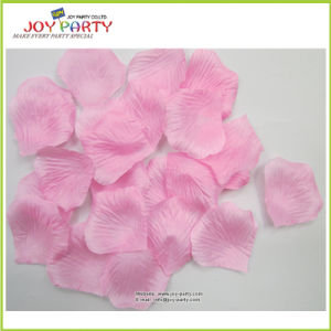 Pink Artificial Polyester Rose Petals pictures & photos