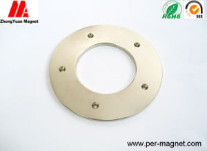 38sh Ring NdFeB Permanent Magnet with Five Countersunk Holes