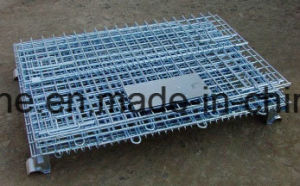 Warehouse Steel Wire Mesh Cage (1100*1000*890 B-6) pictures & photos