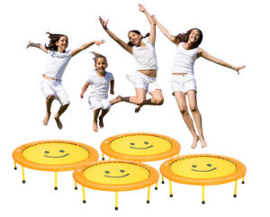 OEM Mini Trampoline Rebounder Fitness Exercise Bouncer Round Workout Indoor Outdoor pictures & photos