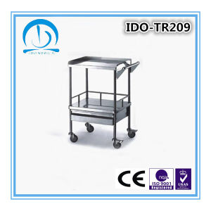 Ce ISO Approved Stailess Steel Anesthesia Trolley pictures & photos