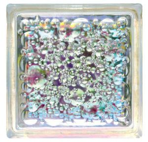 Clear Glass Brick with Cccc pictures & photos