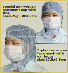 Hot Sale China Disposable Non-Woven Surgeon Cap pictures & photos