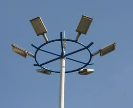 20m/35m Hight Mast Pole with LED Lighting/Outdoor Flood Lights, Flood Lights pictures & photos