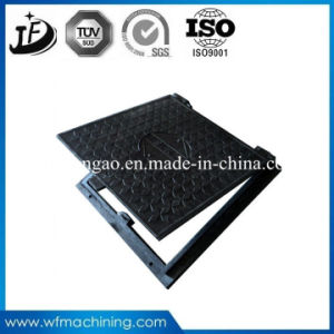 En124 Rectangle Ductile Casting Iron Manhole Cover with OEM Service pictures & photos