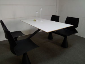 New Fast Food Attached Table and Chair Restaurant Table and Chair pictures & photos