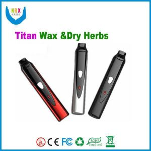2014 Best Quality E Cigarette Portable Dry Herb Vaporizer Wax Vaporizer Kit Titan