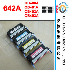 Color Laserjet Cartridge for HP CB400A, CB401A, CB402A, CB403A (HP 642A) pictures & photos