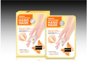 Hand Care Papaya Exfoliating Hand Mask Soften White Hand Mask pictures & photos