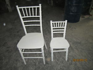 White Color Adult and Kid Chiavari Chair, Tiffany Chair pictures & photos