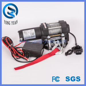 Fast Line Speed ATV Winch Cheap Electric Capstan Winches 3000lbs Capacity (DH3000A) pictures & photos