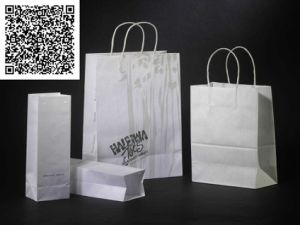 Recycled Striped Non-Woven Fabric Tata Foldable Shopping Bags pictures & photos