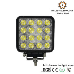 48W 3500lm Epistar Square LED Work Lamp