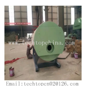 Output Steam Hot Water Three Pass Fuel Oil Gas Horizontal Boiler pictures & photos