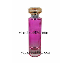 100ml Glass Perfume Bottle with Pump pictures & photos