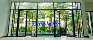 Aluminum Entran Door/French Door with Double Glazing pictures & photos