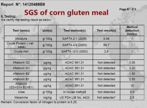 Corn Gluten for Animal Feed (protein 60) pictures & photos