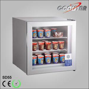 55L Countertop Ice Cream Display Freezer pictures & photos
