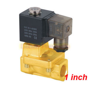 Shako 1′′ Solenoid Valves PU225-08A Pneumatic Valve 2 Way Brass Solenoid Guide Valve Made in China pictures & photos