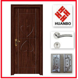 2014 Customzied Design PVC MDF Interior Doors Hb-046
