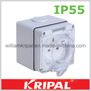 IP66 3pin 13A Weather Protected Socket pictures & photos