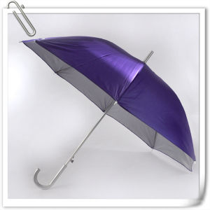 Hot Sale Custom Manual Straight Promotional Advertising Umbrella pictures & photos
