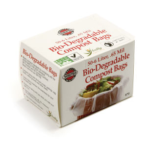 Compostable and Biodegradable Food Waste Bag