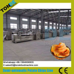 Hot Sale Ce Certificate Natural Potato Chips Production Line pictures & photos
