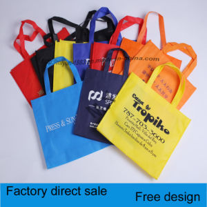 Non-Woven Laser with Button Bag, Thickening Non-Woven Bags pictures & photos