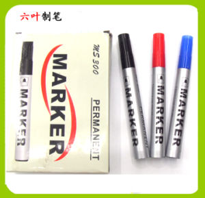 High Quality Permanent Marker Pen (MS300) , Stationery pictures & photos