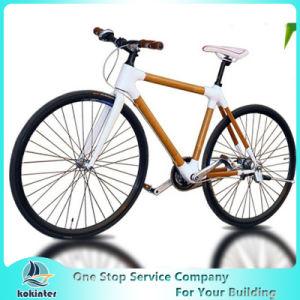 Hot Selling Natural Solid Bamboo Environmental Bamboo Bicycle Bamboo Bike pictures & photos