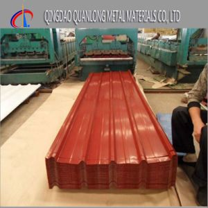 PPGI Corrugated Roofing Steel Sheet for Wall pictures & photos