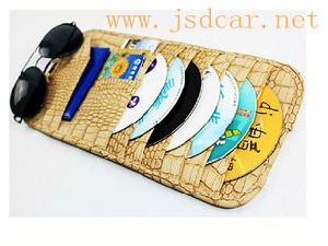 Car Sun Visor CD Holder (JSD-P0014) pictures & photos