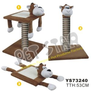 Cat Scratcher Board W/Animal Shape Head pictures & photos