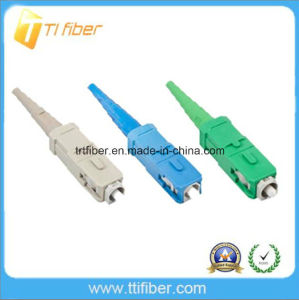 Sc Upc or APC Sm/Mm Simplex Fiber Optic Connector pictures & photos