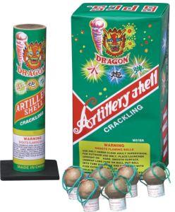 Artillery Shells (W518A) Fireworks