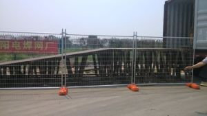 Temporary Steel Fence Hot Dipped Galvanized 42 Microns Comply with As4687 pictures & photos