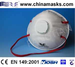 Non-Woven Face Mask Ffp3 with Valve pictures & photos