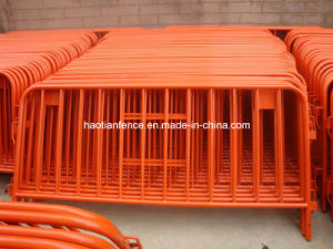 Temporary Powder Coating Crowd Stopper Barricade/Crowd Control Barrier Factory pictures & photos