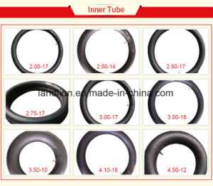 Rich Experience Natural Rubber Inner Tube for Motorcycle 2.00-17, 2.25-17, 2.50-17, 3.00-17, 3.00-18 pictures & photos