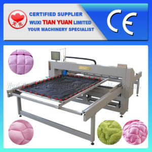 Single Needle Mattress Quilting Machine pictures & photos